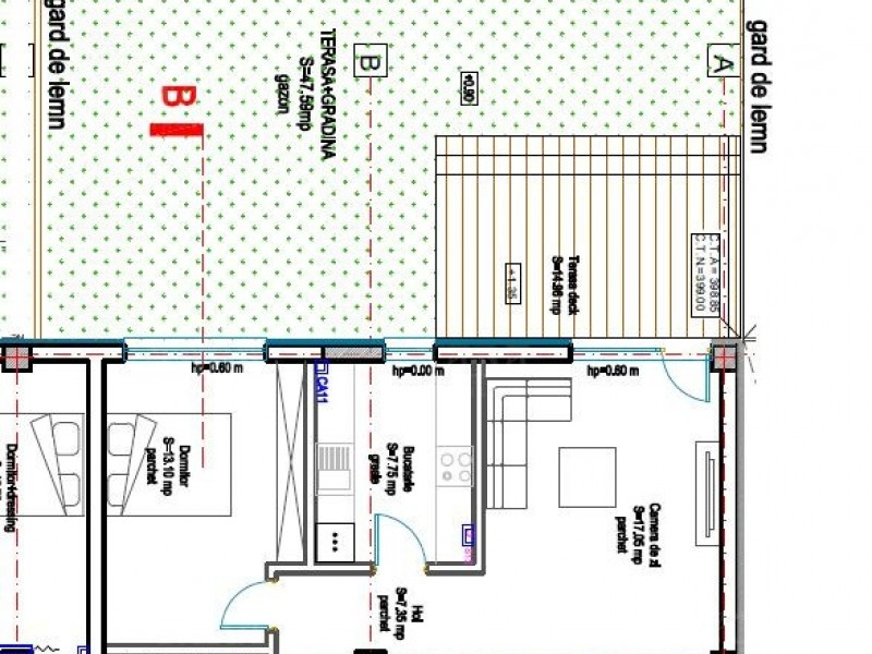 Apartament cu 2 camere, Nord