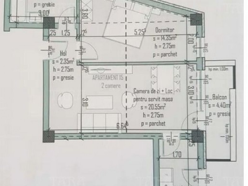 Apartament Cu 2 Camere Semicentral ID V969871 2