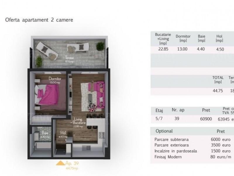 Apartament Cu 2 Camere Zorilor ID V517292 3