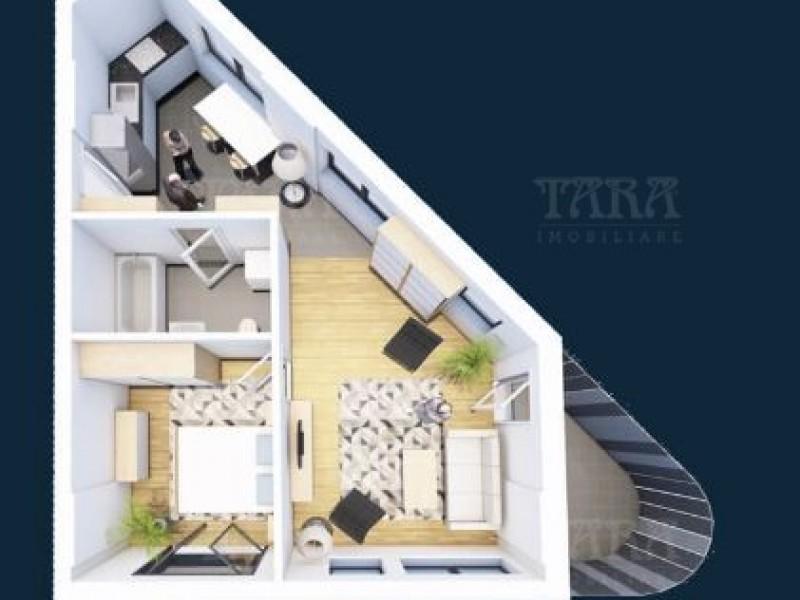 Apartament cu 2 camere, Iris