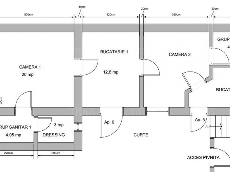 Apartament cu 2 camere, Ultracentral