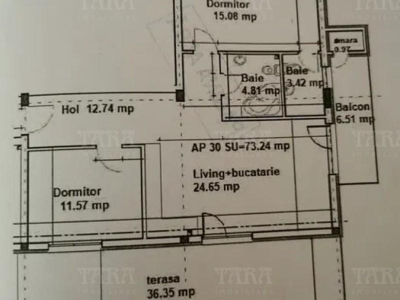 Apartament Cu 3 Camere Floresti ID V1118608 1