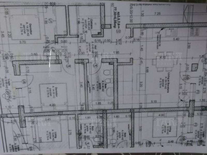 Apartament Cu 3 Camere Floresti ID V487348 8