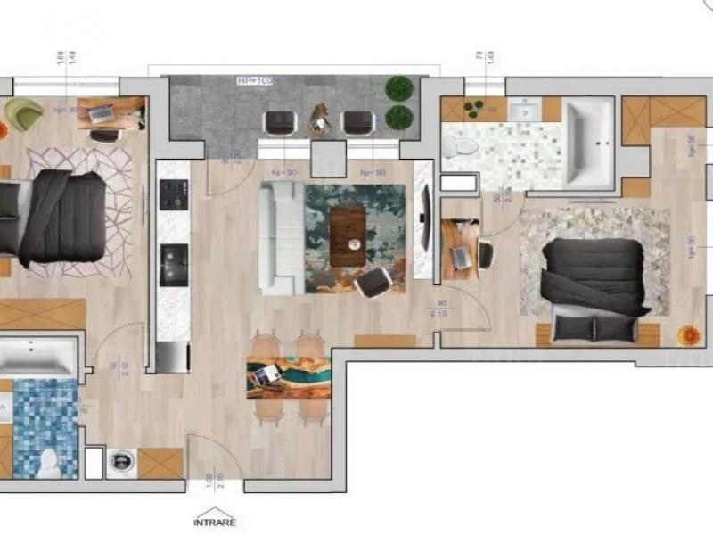 Apartament Cu 3 Camere Floresti ID V945199 2