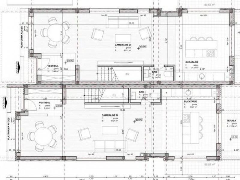 Casa cu 5 camere, Andrei Muresanu