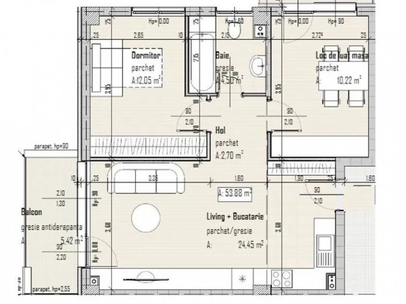 Apartament Cu 3 Camere Baciu ID V919717 1