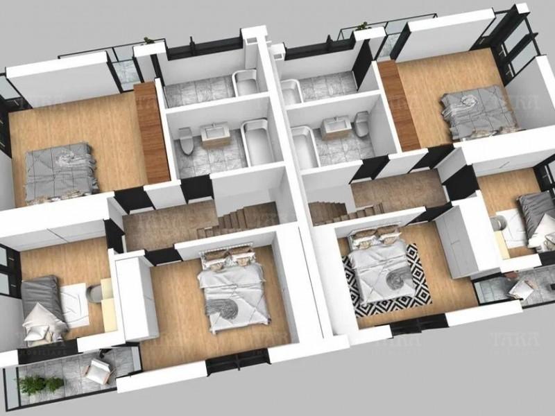 Casa cu 4 camere, Iris