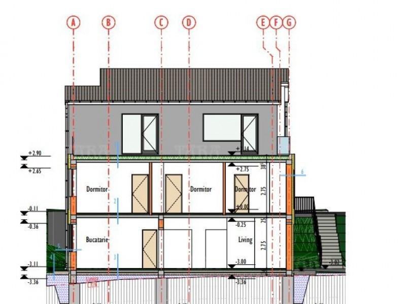 Casa cu 5 camere, Dambul Rotund