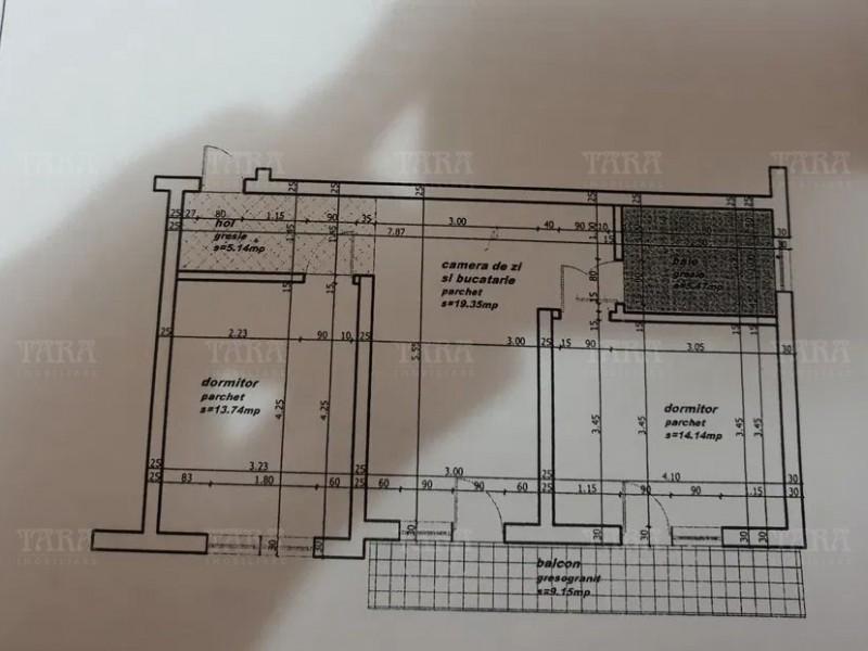 Apartament Cu 3 Camere Floresti ID V157403 11