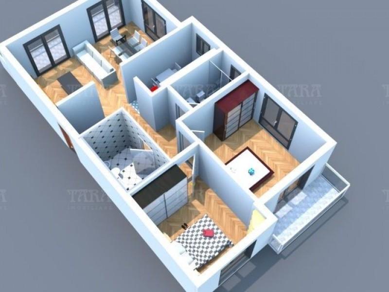 Apartament Cu 3 Camere Floresti ID V661950 6
