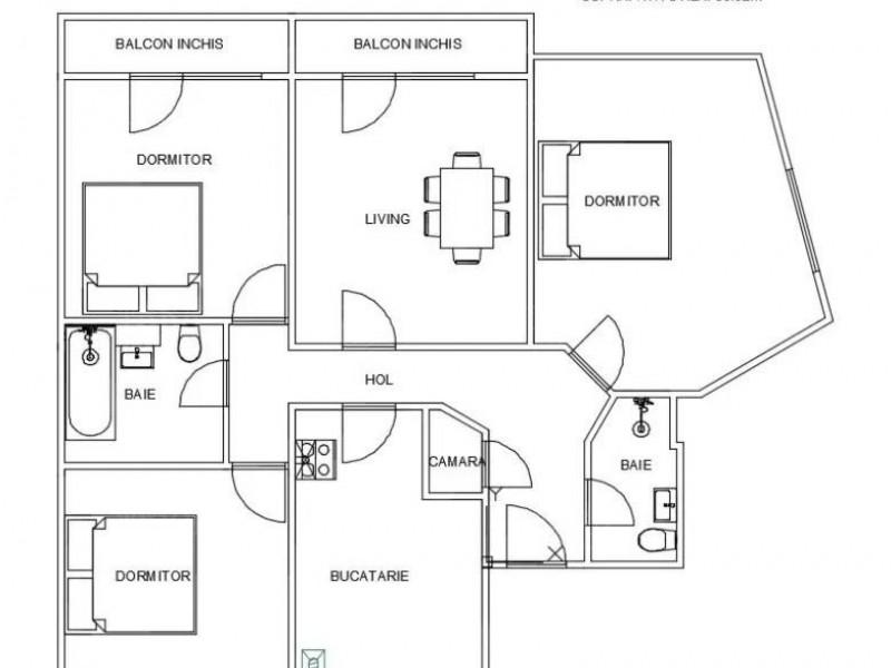 Apartament Cu 4 Camere Manastur ID V1124632 8