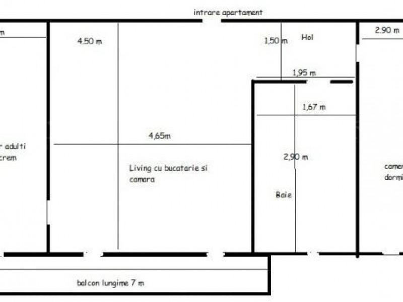 Apartament Cu 3 Camere Floresti ID V551758 8