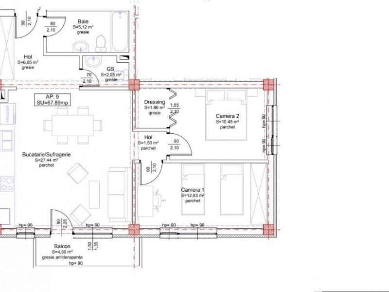 Apartament Cu 3 Camere Floresti ID V562768 1
