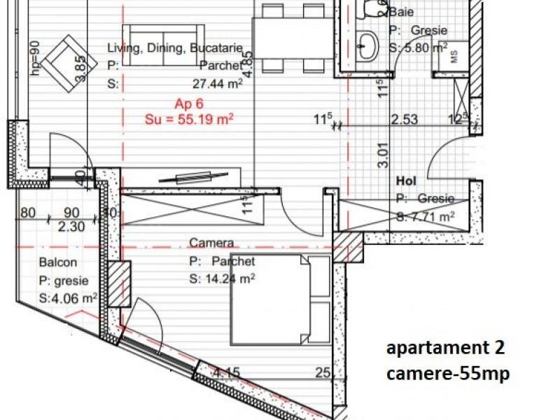 Apartament Cu 2 Camere Dambul Rotund ID V560513 2