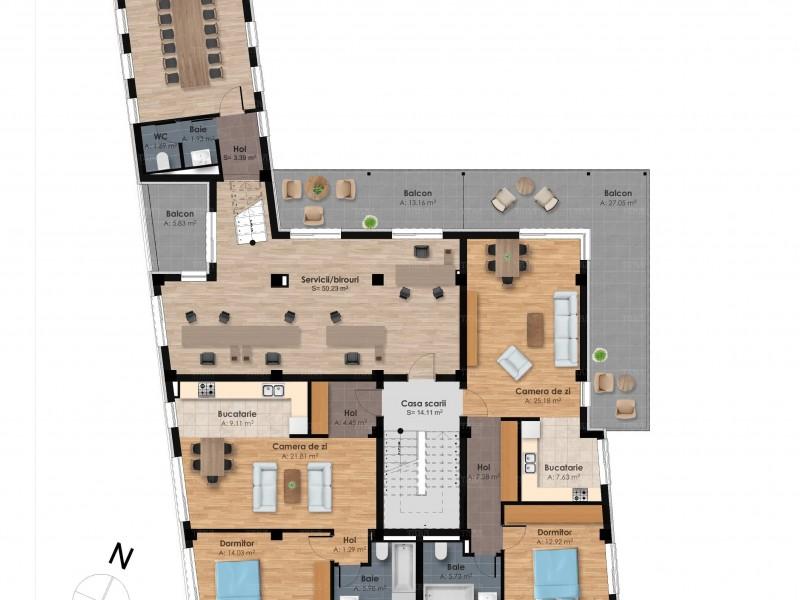 Apartament Cu 2 Camere Semicentral ID V567047 1
