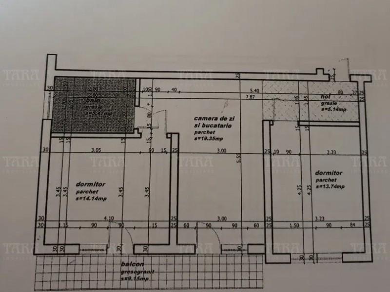 Apartament Cu 3 Camere Floresti ID V157403 10
