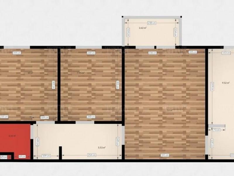 Apartament Cu 3 Camere Manastur ID V1213398 8