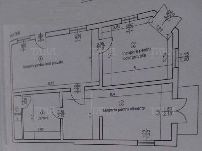 Casa 5 camere, Dambul Rotund