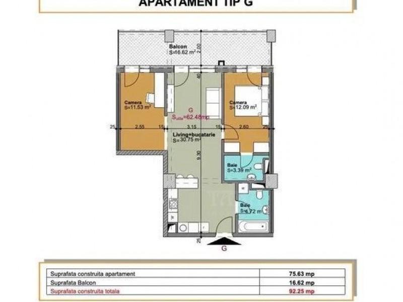 Apartament Cu 3 Camere Gheorgheni ID V1184181 4