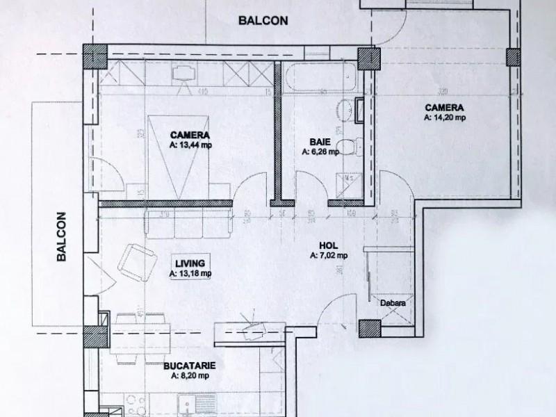 Apartament Cu 3 Camere Manastur ID V969229 6
