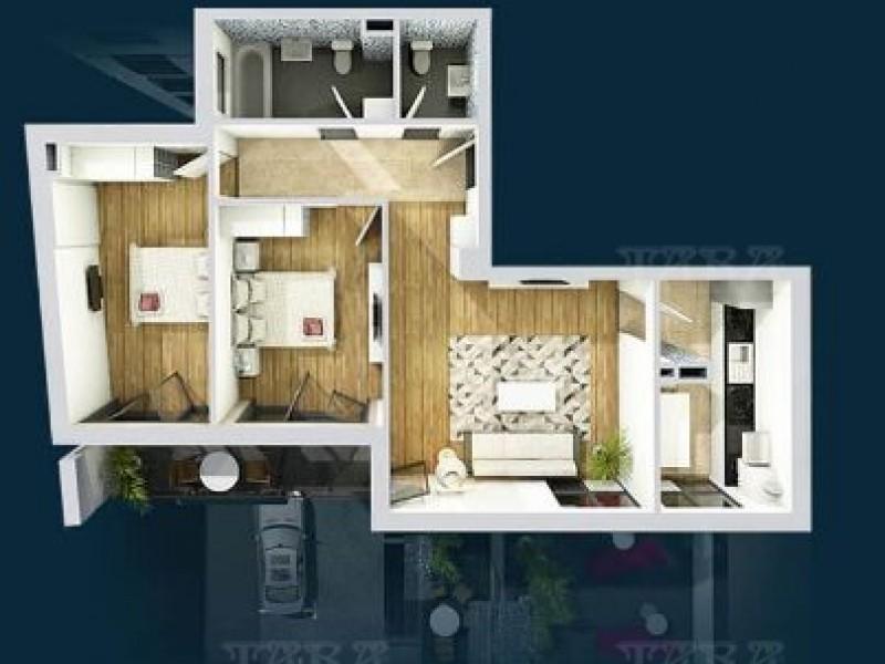 Apartament Cu 3 Camere Semicentral ID V1038192 1