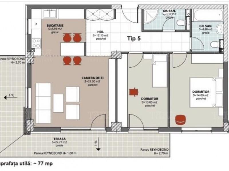 Apartament Cu 3 Camere Buna Ziua ID V695530 8