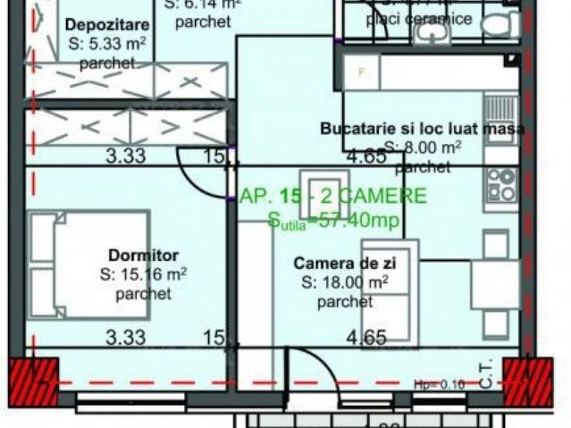 Apartament Cu 2 Camere Marasti ID V573024 1