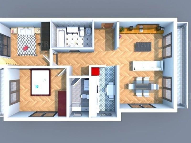 Apartament Cu 3 Camere Floresti ID V661950 7