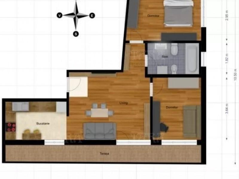 Apartament Cu 3 Camere Marasti ID V759983 4