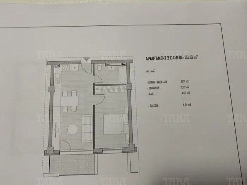 Apartament Cu 2 Camere Baciu ID V1114909 4