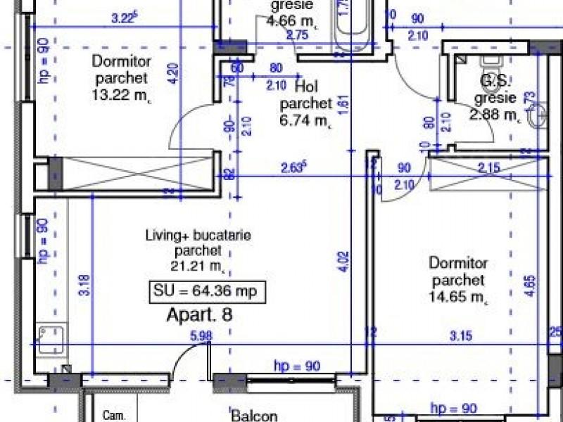 Apartament Cu 2 Camere Floresti ID V652111 1