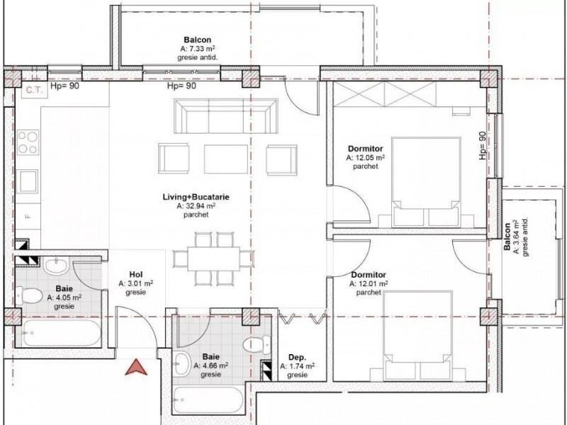 Apartament Cu 3 Camere Floresti ID V624209 1
