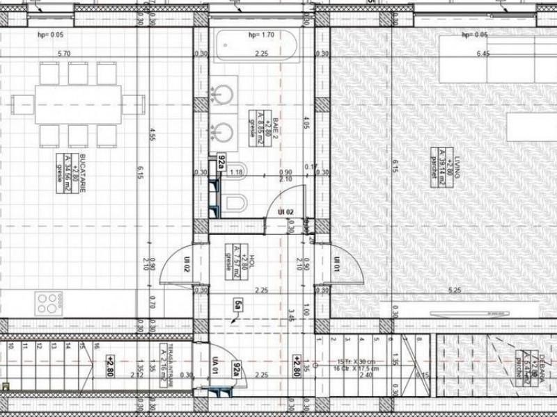 Apartament 5 camere, Gruia
