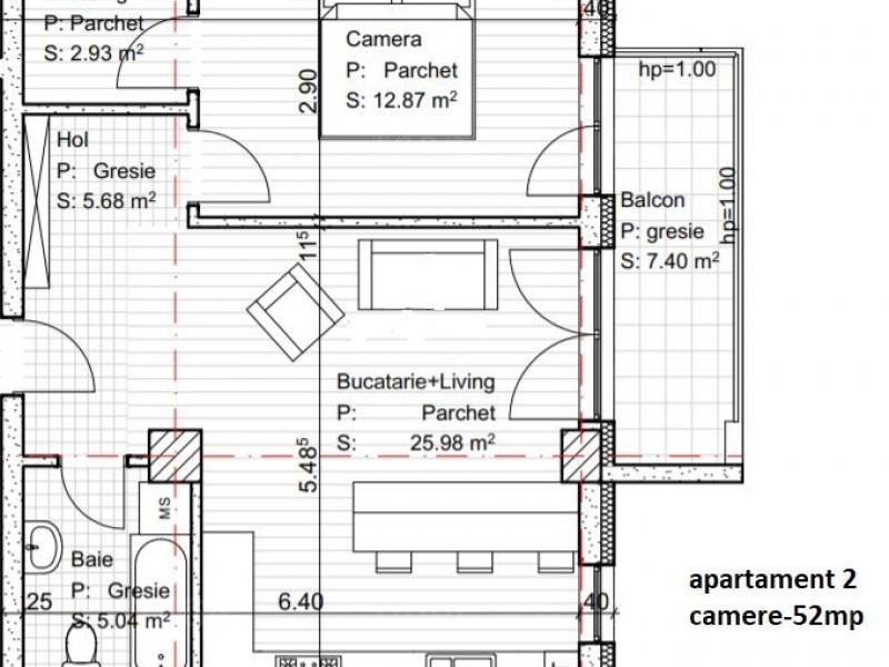 Apartament Cu 2 Camere Dambul Rotund ID V560513 3