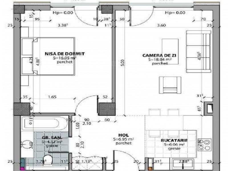 Apartament Cu 2 Camere Dambul Rotund ID V606725 4