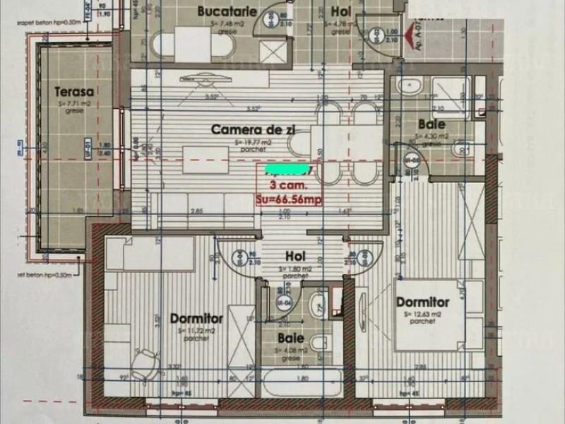 Apartament Cu 3 Camere Marasti ID V980556 2
