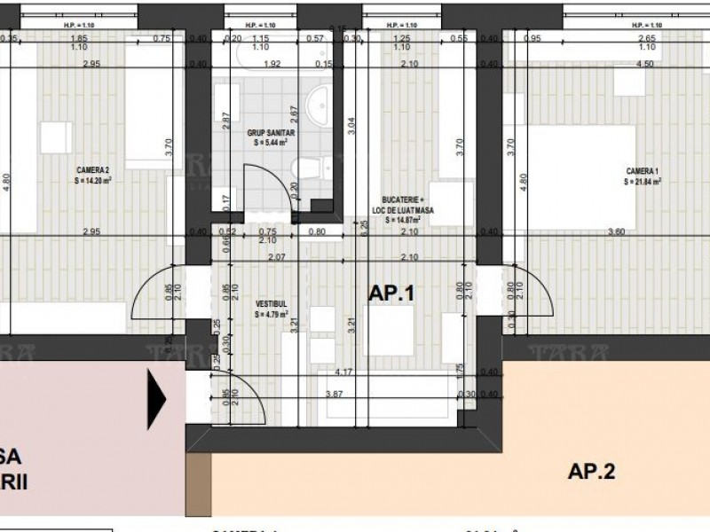 Apartament Cu 2 Camere Zorilor ID V881835 7