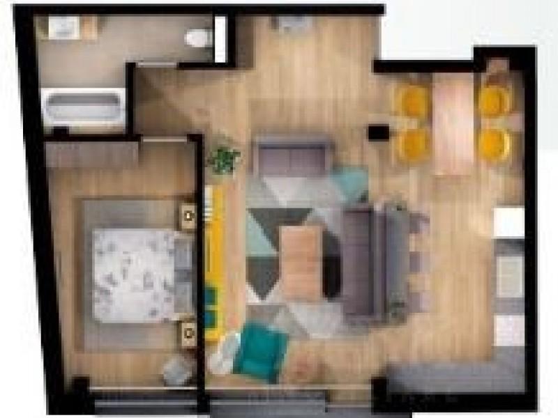 Apartament Cu 3 Camere Semicentral ID I1146940 6
