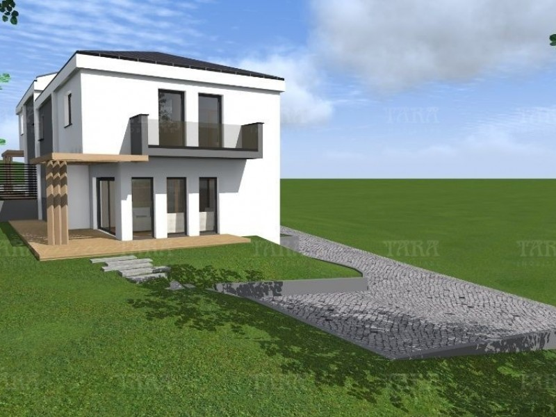 Casa cu 4 camere, Baciu