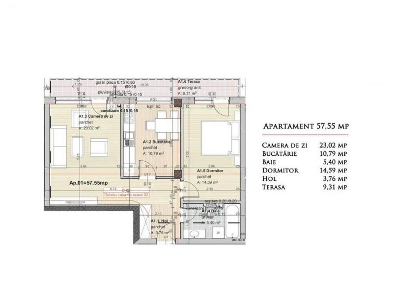 Apartament Cu 2 Camere Someseni ID V855189 1