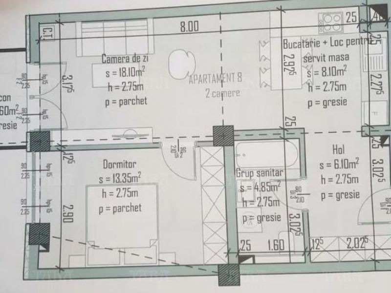 Apartament Cu 2 Camere Semicentral ID V969871 1