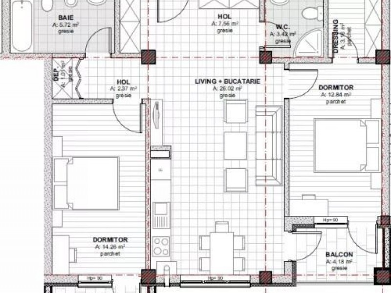 Apartament Cu 3 Camere Baciu ID V609259 1