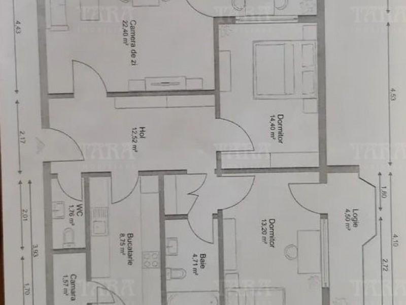 Apartament Cu 3 Camere Grigorescu ID V1111423 3