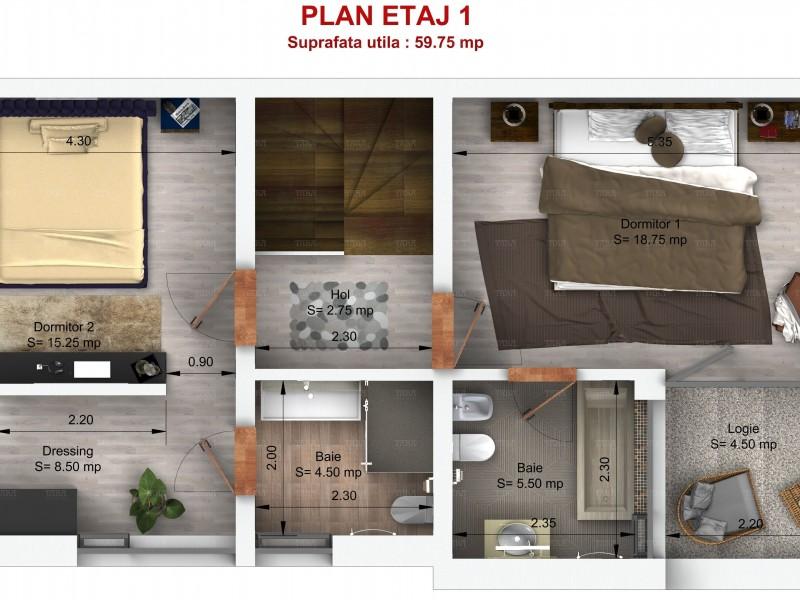 Casa Cu 4 Camere Manastur ID V719009 2
