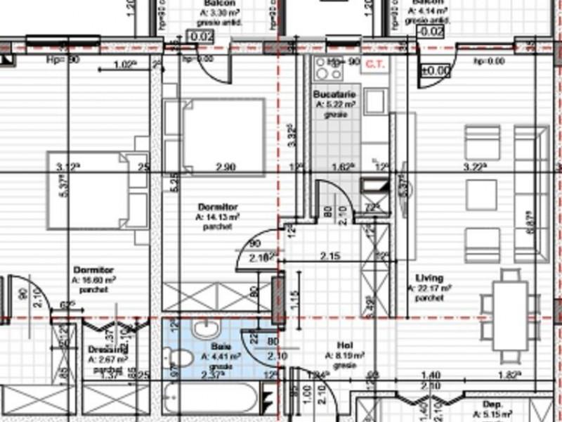 Apartament Cu 3 Camere Floresti ID V652754 1