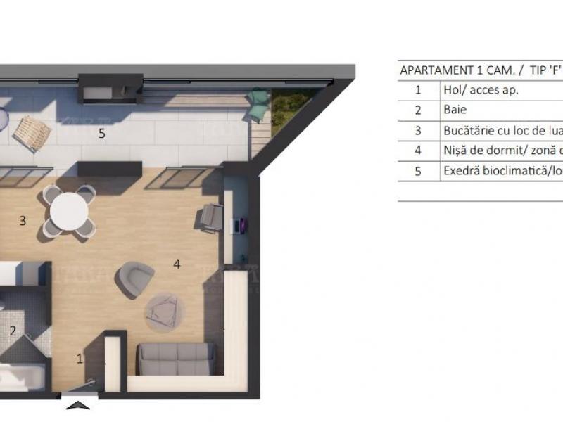Apartament Cu 2 Camere Floresti ID V732241 1