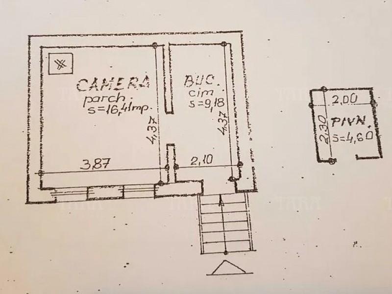 Apartament Cu 1 Camera Semicentral ID V917966 4