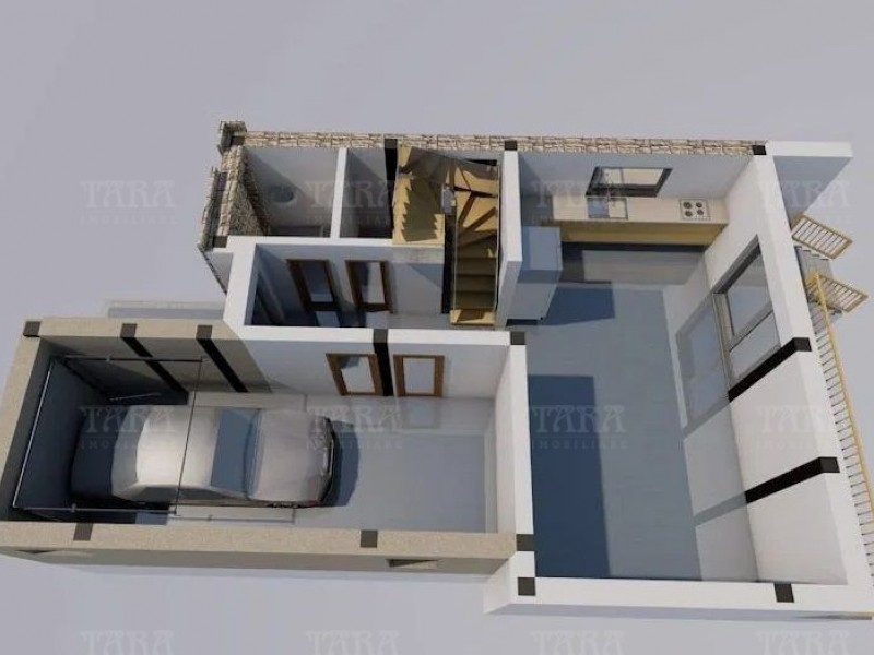 Casa cu 4 camere, Feleacu