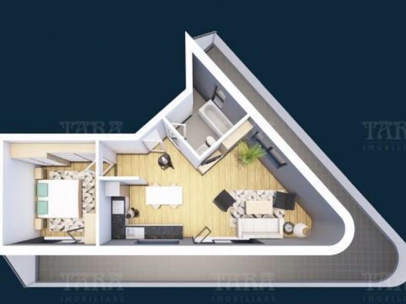 Apartament 2 camere, Iris