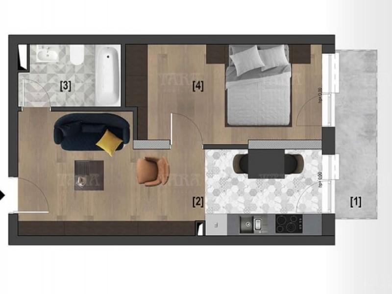 Apartament cu 1 camera, Bulgaria